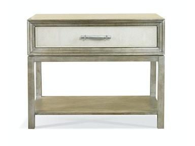 Hickory White Greg Single Drawer Side Table