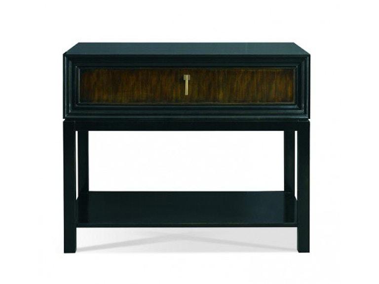 Hickory white living room greg single drawer side table 107wbp louis