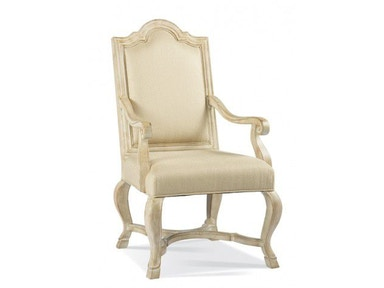 Hickory White Arm Chair 171-65