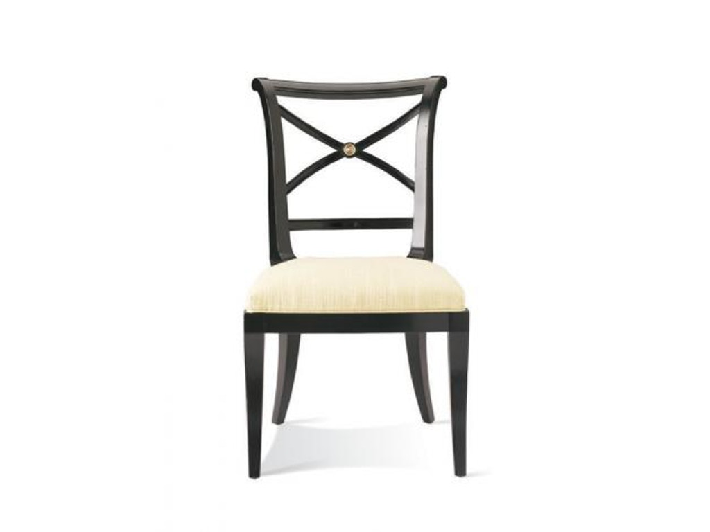 hickory white dining room x back side chair 421 64 hickory furniture