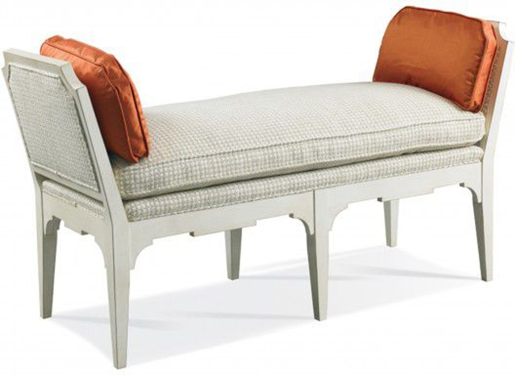 Hickory White Living Room Bench 4648 21 Louis Shanks