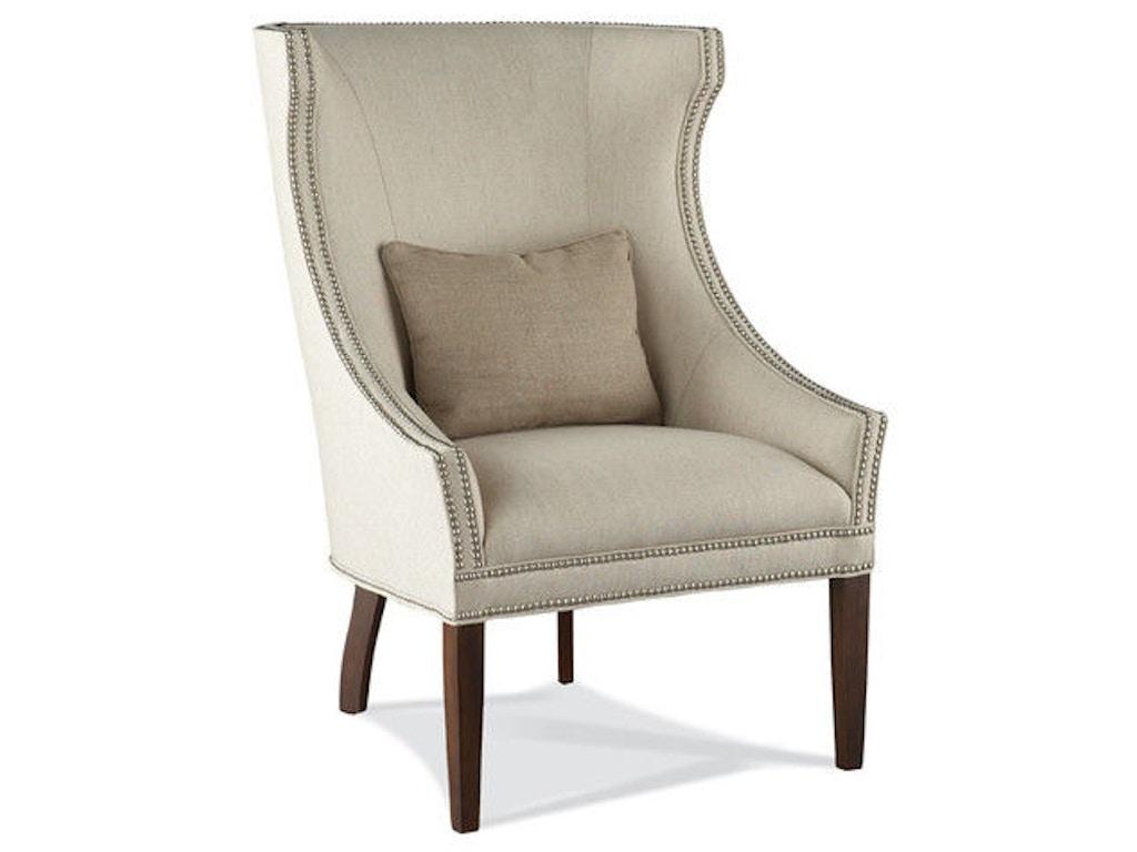 Hickory White Living Room Fully Upholstered Chair 4860 01 Studio 882 Glen Mills Pa Across