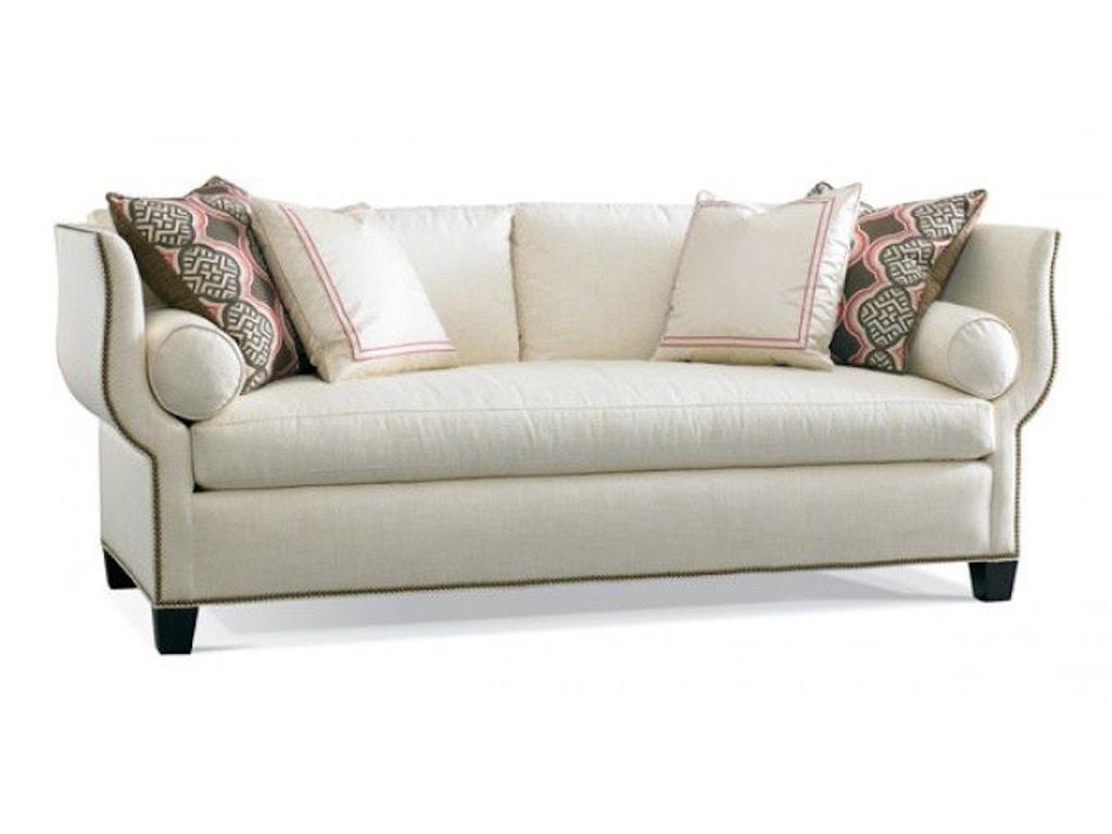 Hickory white living room sofa 4871 05 alyson jon for White sectional sofa houston