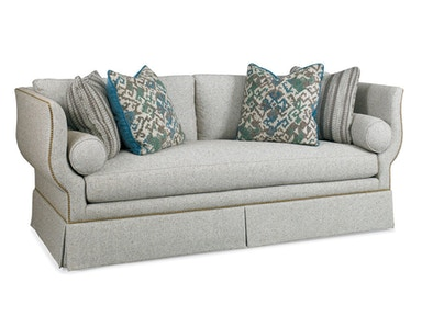Hickory White Sofa 4871-05X
