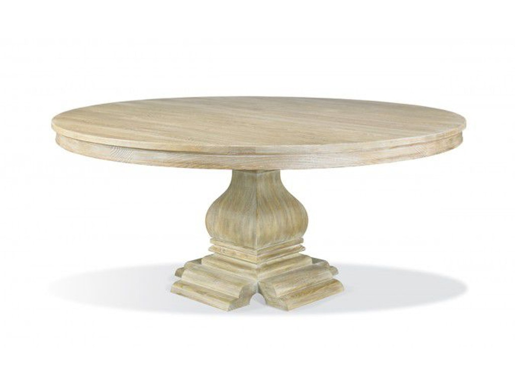Hickory White Dining Room Round Dining Table 550 05 552 19 Studio 882 Gle