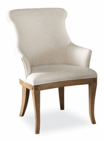 Hickory White Dining Room Upholstered Arm Chair 631 65 Hickory Furniture Mart Hickory Nc