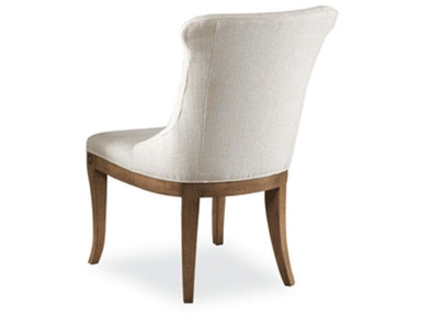 Hickory White Upholstered Side Chair 631-66