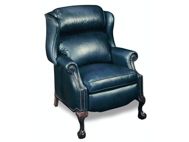 Bradington-Young Living Room Presidential Reclining Wing Chair