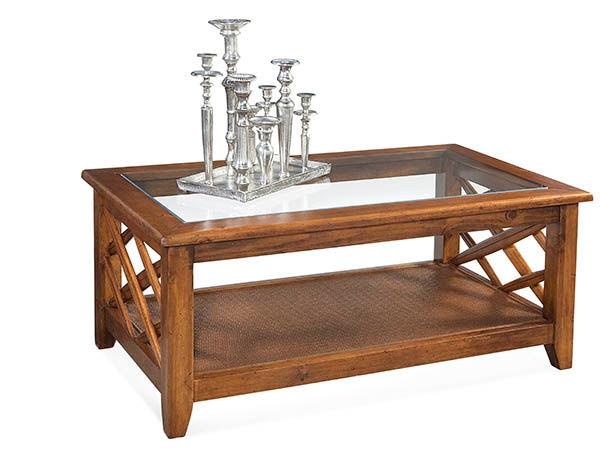 Cross Roads Coffee Table 1026-072