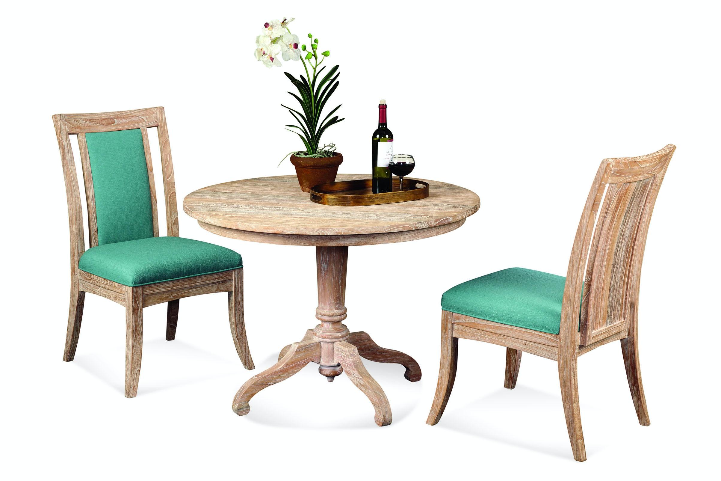 "Cimarron 42"" Round Pedestal Dining Set 2928-075-SET"