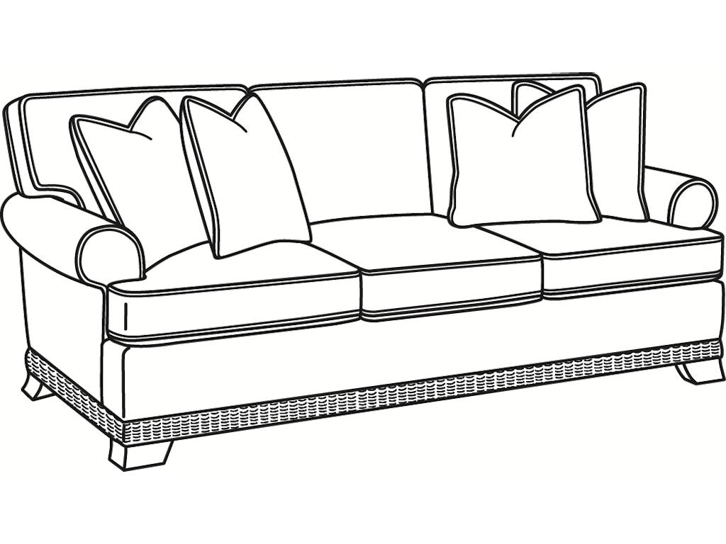 Living Room Furniture Fort Myers Fl Braxton Culler Living Room Sofas 2932 011 Norris Furniture