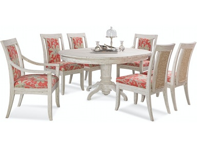 Fairwinds Round/Oval Pedestal Dining Table 2932-E75-SET