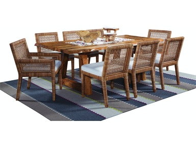 Bellport Live Edge Dining Room Set 2985-DT-SET