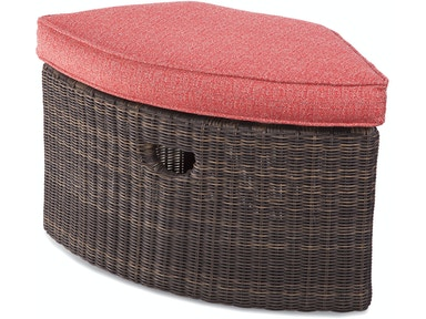 Tangier Wedge Ottoman 404-094