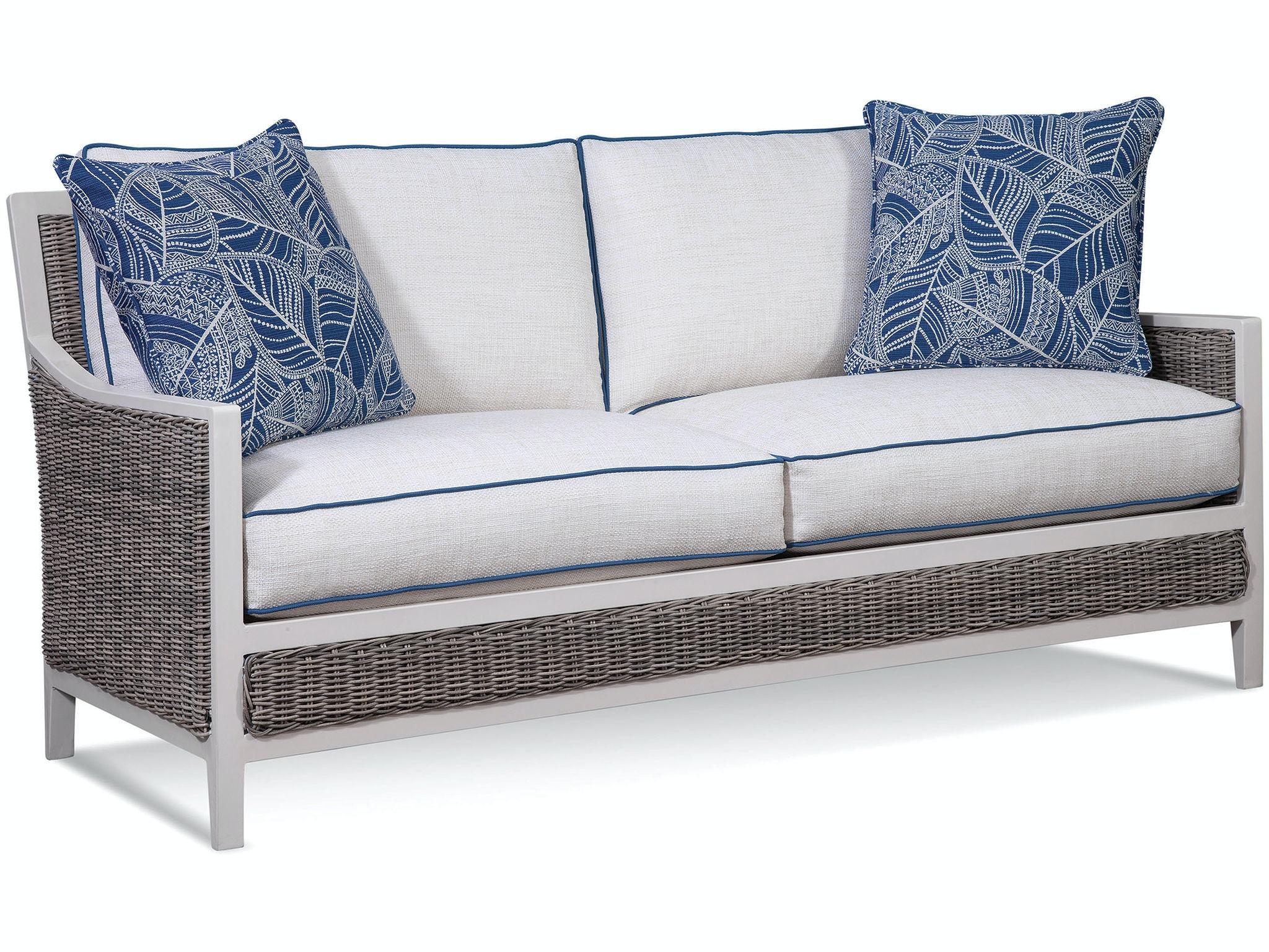 Superbe Braxton Culler Outdoor Two Cushion Sofa 418 011