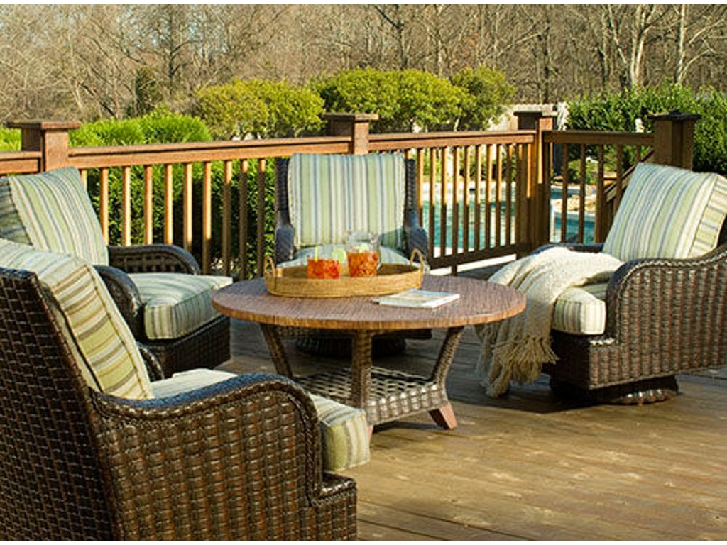 Braxton Culler Outdoor Patio Chat Table 444 070 Elite Interiors Myrtle Beach Sc