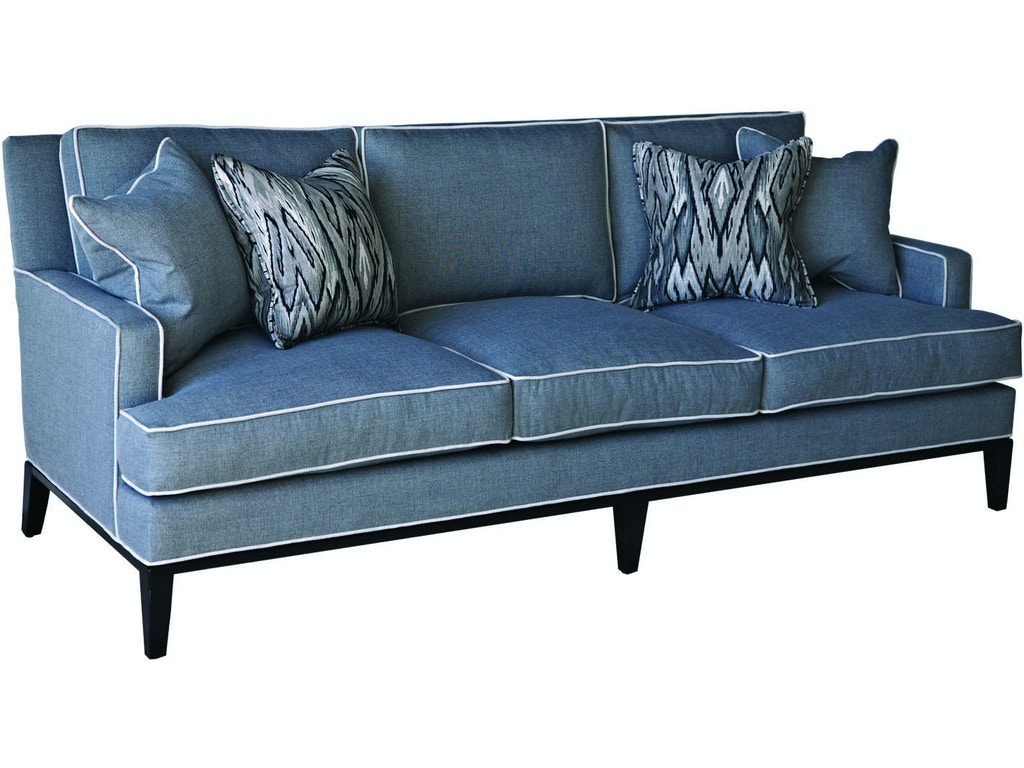 Braxton culler living room andrews sofa 5010 011 quality for Quality furniture