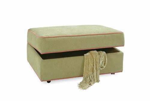 Storage Ottoman with Casters 546-009