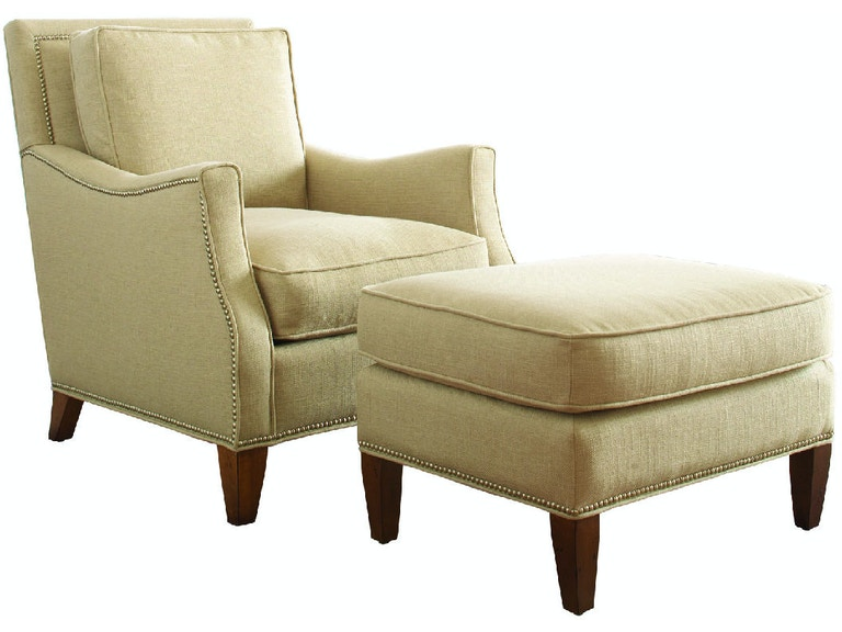 Braxton Culler Libby Langdon Haynes Occasional Chair with Large Nailheads 5719-001LN