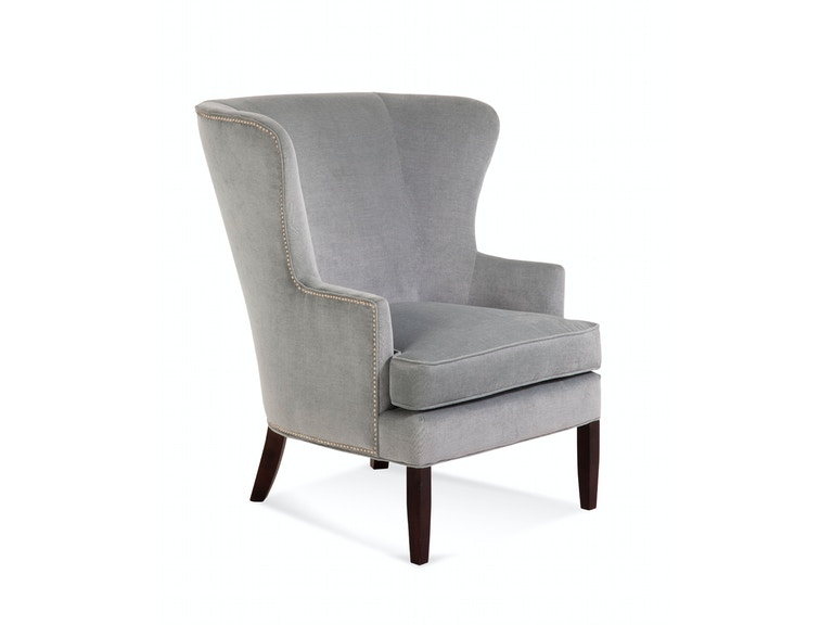 Braxton Culler Tredwell Wing Chair with Nailheads 5732-007SN