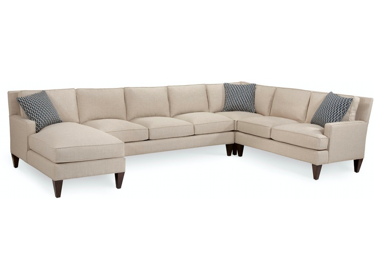 Braxton Culler Libby Langdon Latham Sectional Group 5737-Latham Sectional