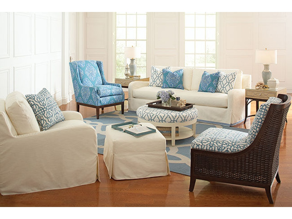 Braxton culler living room stanton wing chair 5747 007 for Joop living room 007