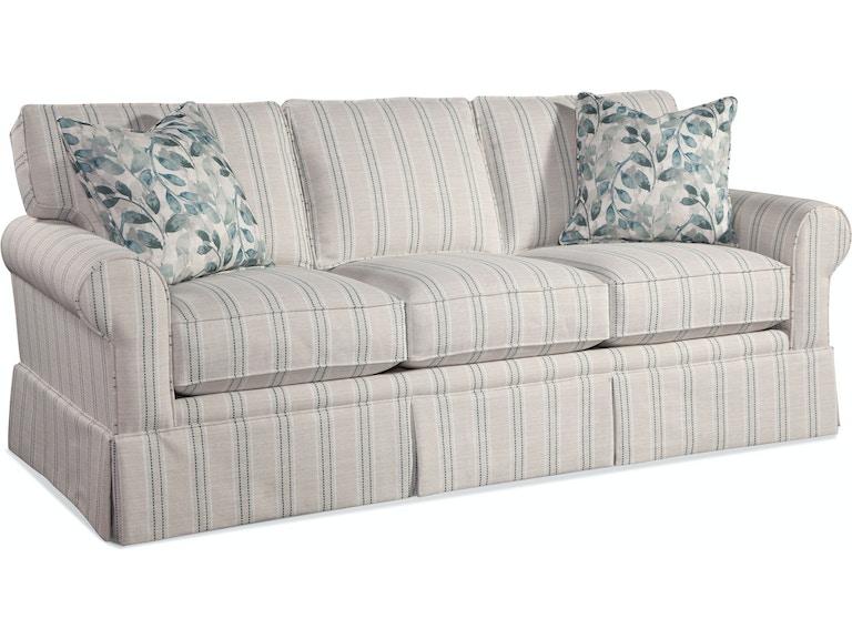 Braxton Culler Living Room Benton Queen Sleeper Sofa 628