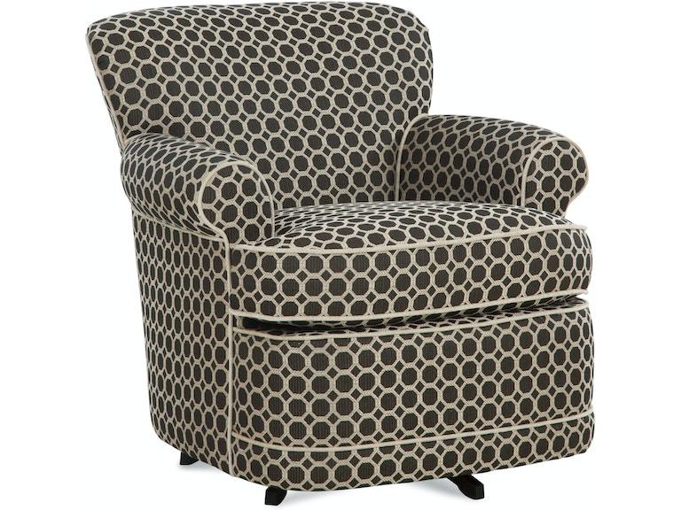 Braxton Culler Living Room Maxton Swivel Chair 634 005