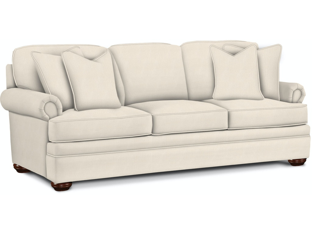 Braxton culler living room sleeper sofa 7111 0150 pamaro for Sectional sleeper sofa florida