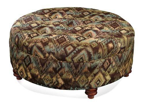 Large Round Ottoman 719-009