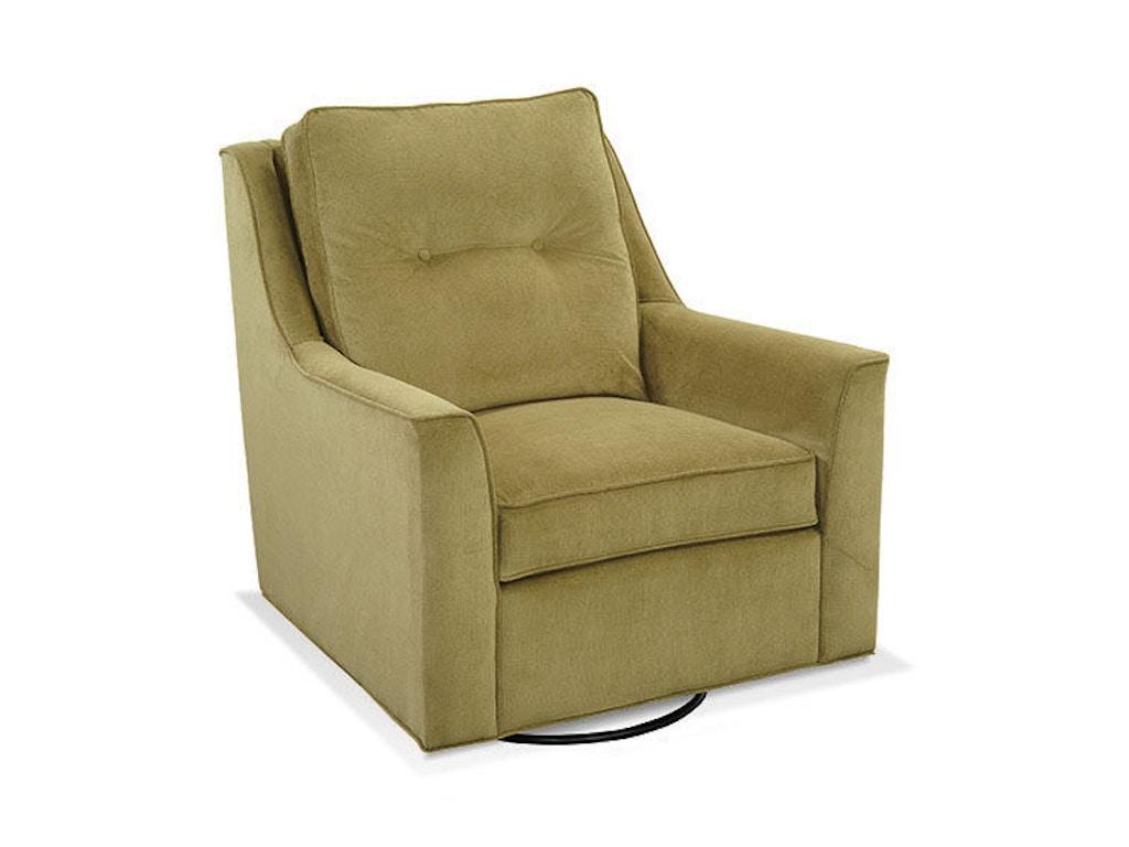 Braxton culler living room swivel glider 745 002 drury 39 s for The living room 002