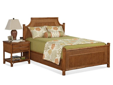 Summer Retreat Arched Queen Bed 818-021