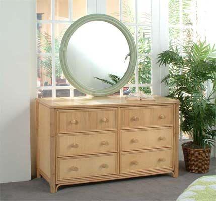 Summer Retreat 6 Drawer Dresser 818-041
