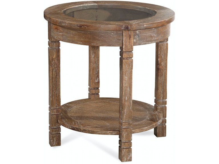Braxton Culler Farmhouse Round End Table 835-022