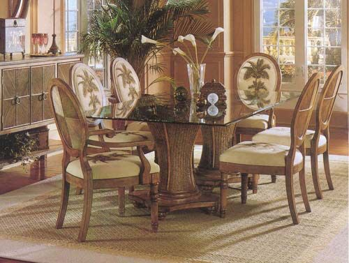 Sawgrass Rectangular Dining Table 848-076