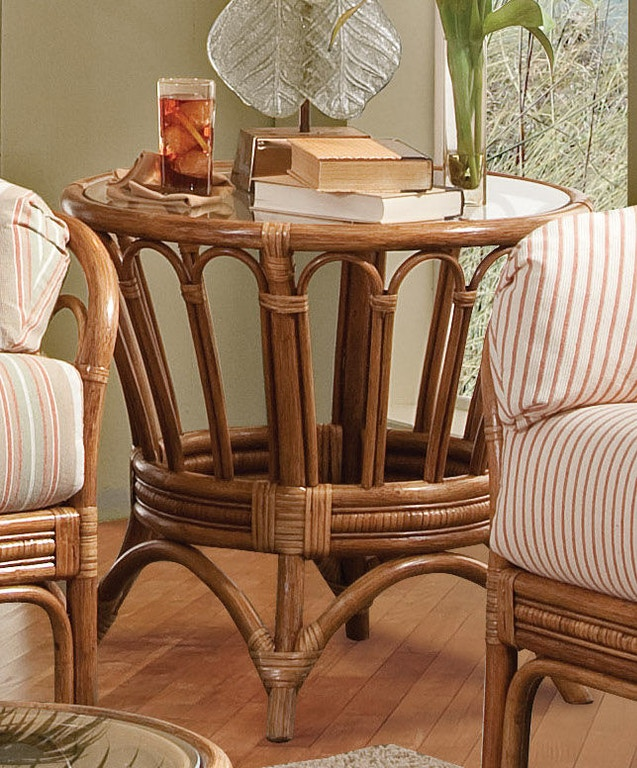 Outdoor Patio Furniture Hickory Nc: Braxton Culler Living Room Moss Landing Round End Table