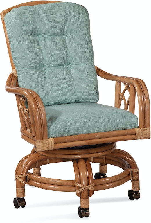 Braxton Culler Dining Room Edgewater High Back Swivel Rocker Chair 914 106 Braxton Culler Sophia Nc