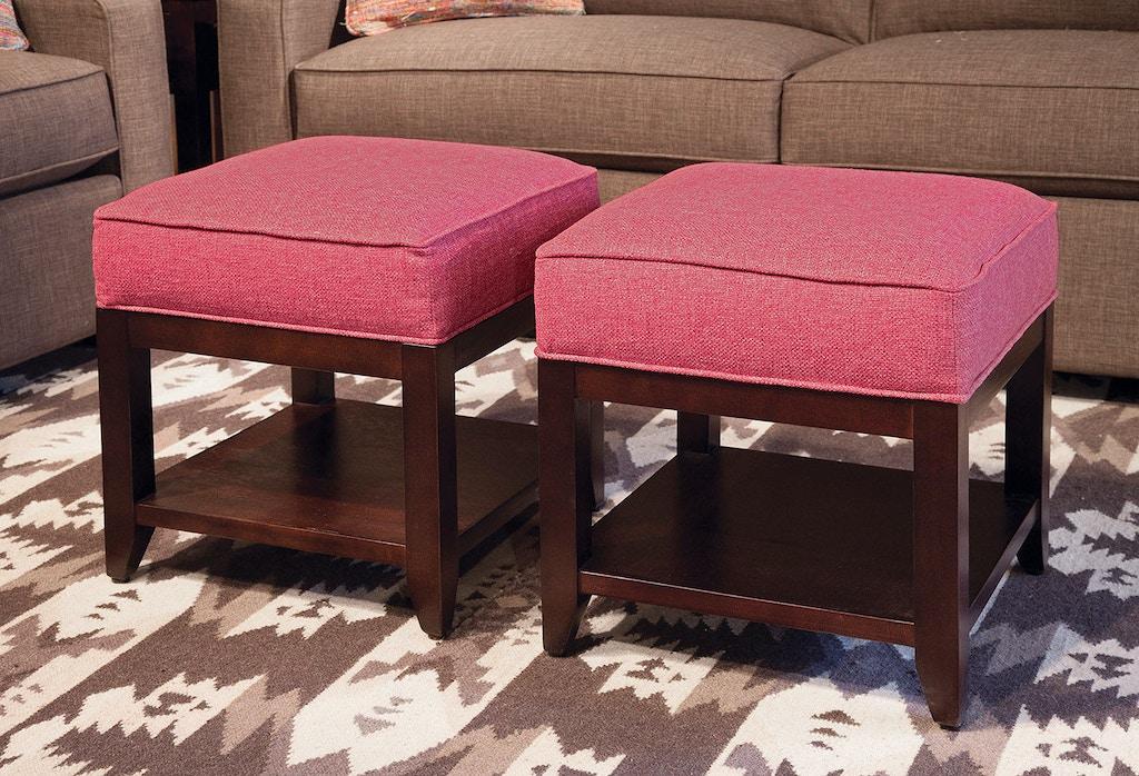 Braxton Culler Living Room Elements Cube Ottoman 947-194 - Braxton ...
