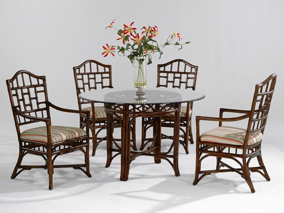 Chippendale Round Dining Room Set 970-DT-SET