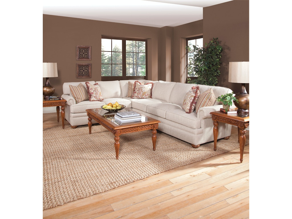 Braxton Culler Living Room Sectionals 7111 Sectional Matter Brothers Furniture Fort Myers