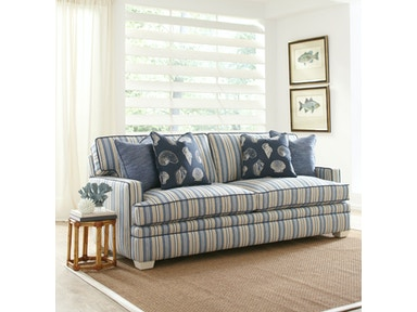 Kensington Track Arm, Boxed Back Pillow, Tapered Leg Sofa 7312-0112