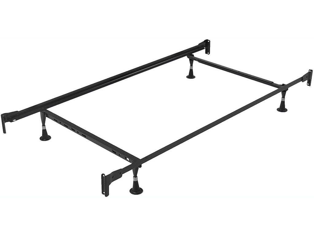 fashion bed group engineered adjustable 834 bed frame with fixed head and food panel brackets and - Adjustable Twin Bed Frame