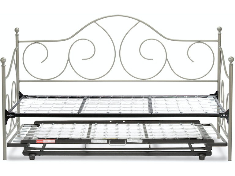 Fashion Bed Group Youth Caroline Complete Metal Daybed With Link