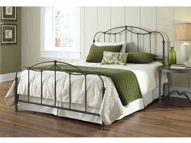 Fashion Bed Group Bedroom Affinity Complete Metal Bed And Steel