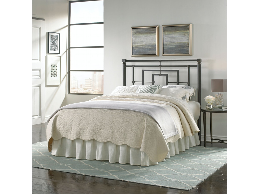 Fashion Bed Group Bedroom Sheridan Metal Headboard with Squared ...