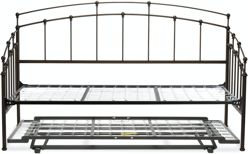 Fashion Bed Group Bedroom Fenton Complete Metal Daybed with Link ...