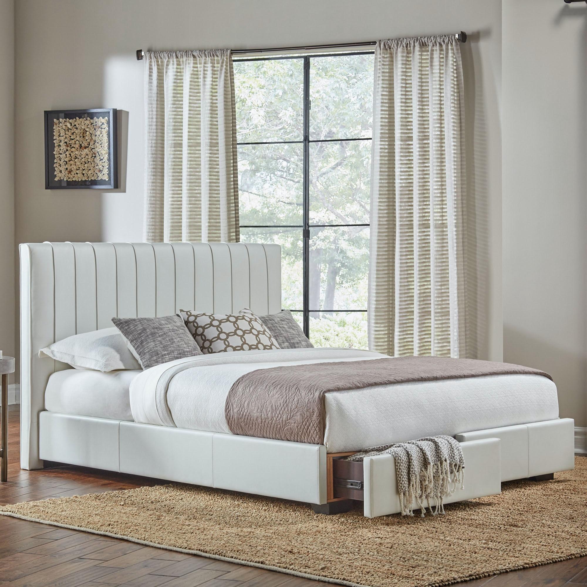 Fashion Bed Group Bedroom Delaney Storage Bed