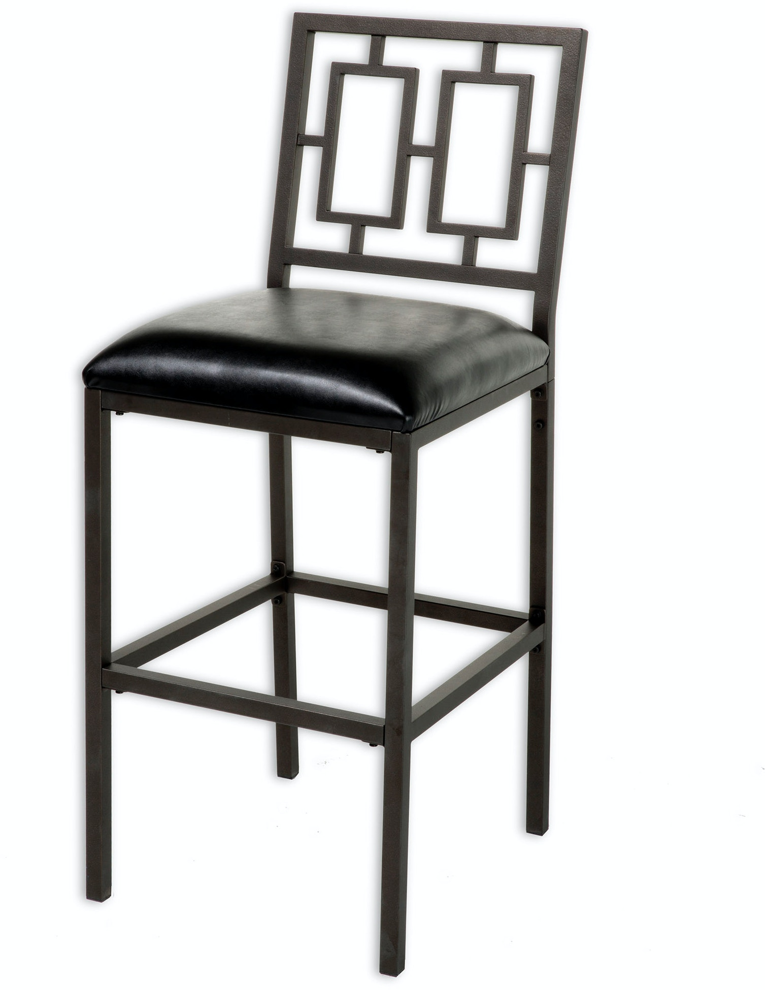 Fashion Bed Group Bar And Game Room Lansing Metal Barstool With