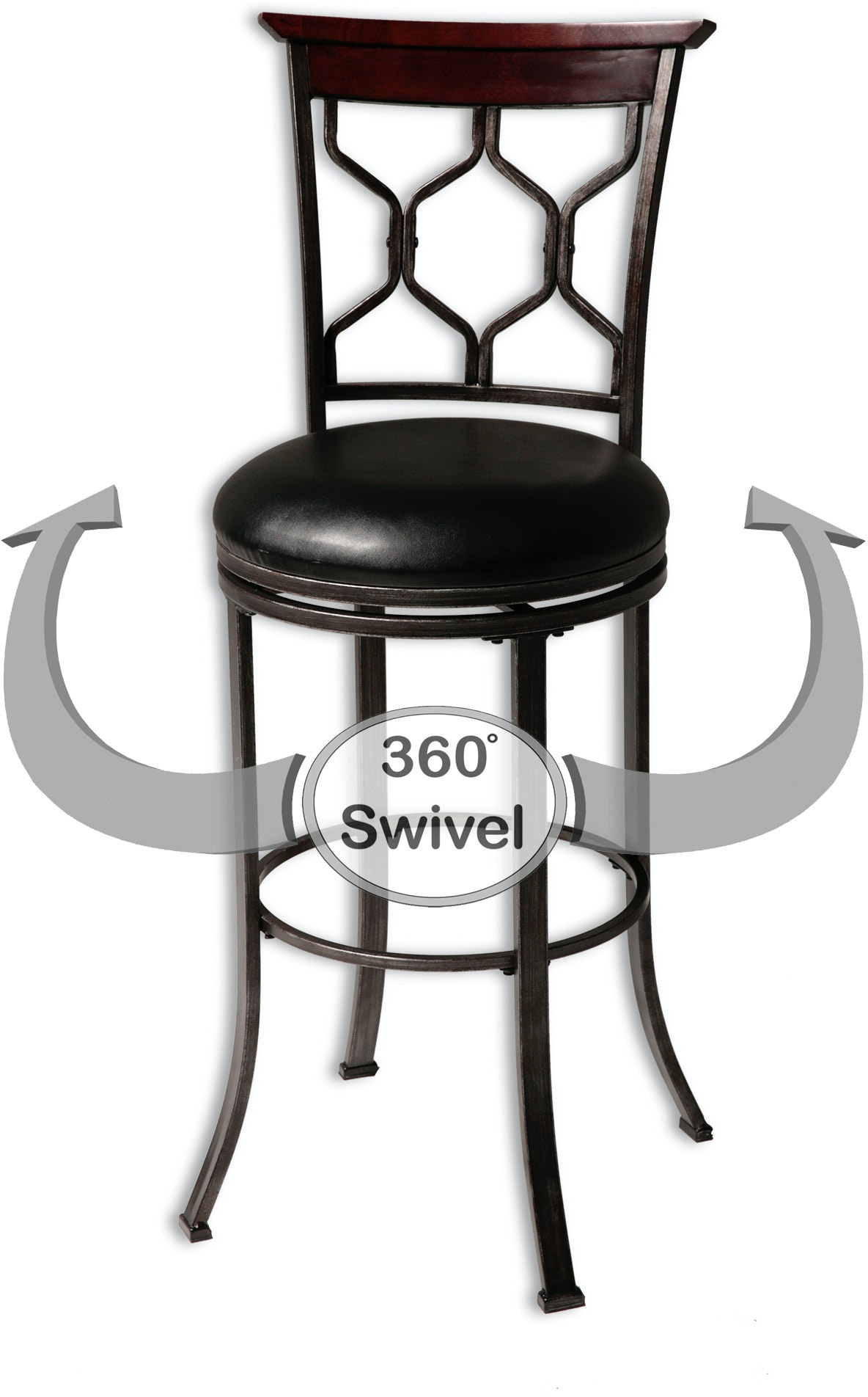 Fashion Bed Group Bar And Game Room Tallahassee Metal Counter Stool