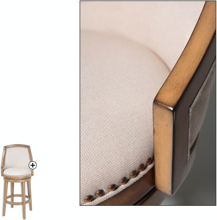 Fashion Bed Group Bar and Game Room Charleston Wood Counter Stool ...